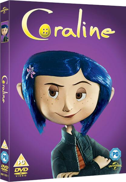 Coraline Big Face Edition DVD Zavvicom