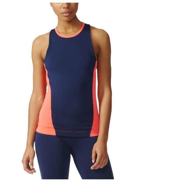 adidas Women s Stella Sport Easy Training Tank Top - Blue Pink  Image 1 c6a21df306