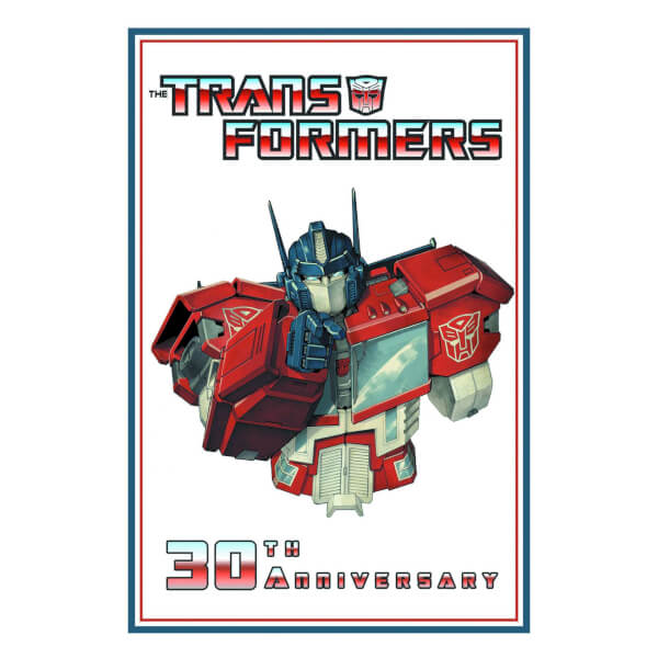 transformers 30th anniversary book review