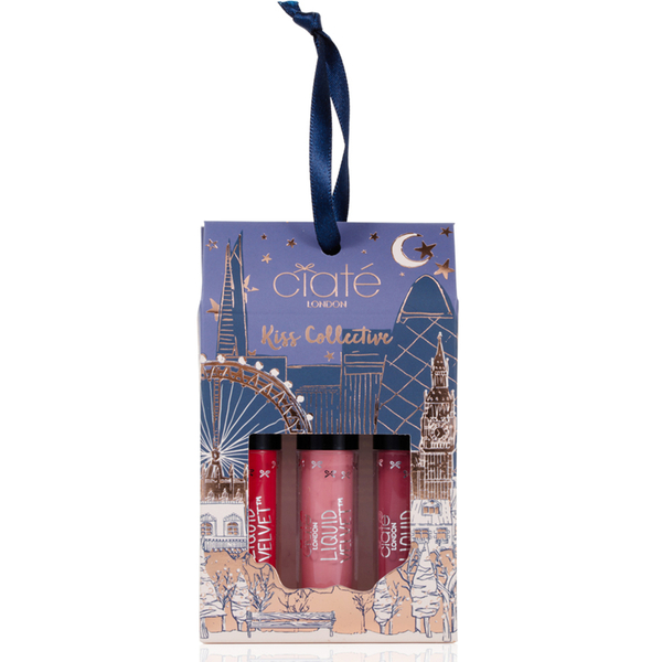 Ciaté London Kiss Collective Mini Liquid Velvet Lipstick Trio