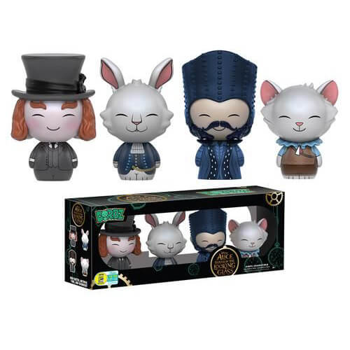Alice: Through the Looking Glass 4-pack Dorbz Vinyl Figure SDCC 2016 Exclusive