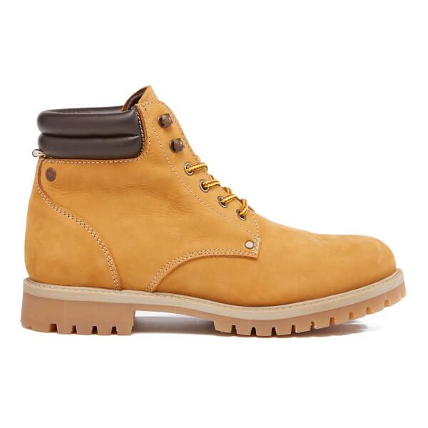 Jack Cuir Boots Jones Homme boots Noir En Jones And xeodBC