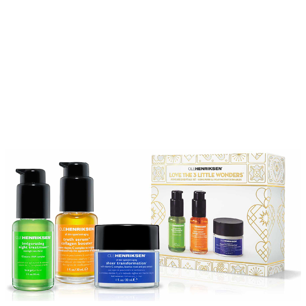 Ole Henriksen Love the Three Little Wonders Holiday Kit (Worth £100.40)