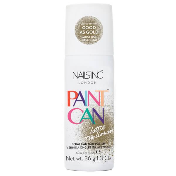 nails inc. Paint Can Nail Polish - Good As Gold