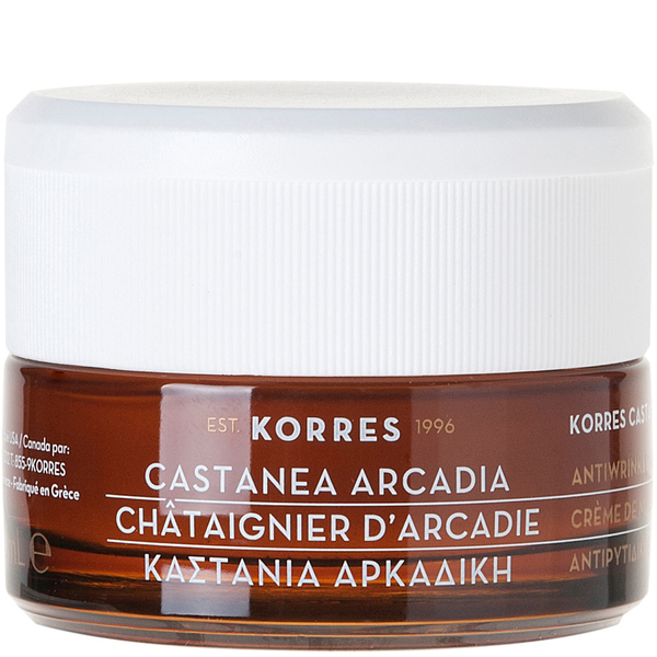KORRES Castanea Arcadia Antiwrinkle and Firming Night Cream 40m