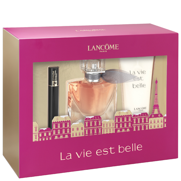 lanc me la vie est belle eau de parfum coffret 30ml free shipping lookfantastic. Black Bedroom Furniture Sets. Home Design Ideas