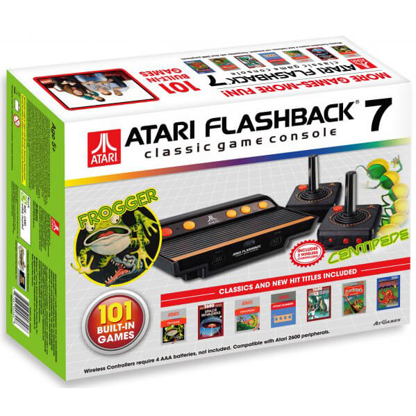 Atari flashback 7 frogger games - Atari flashback 3 classic game console ...
