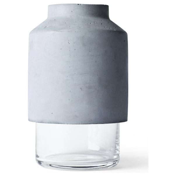 Menu Willmann Vase - Dark Grey