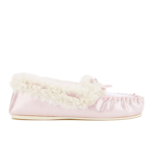 Pantoufles Dunlop Amaline -Rose