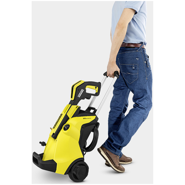 Karcher k4 full control pressure washer yellow garden - Karcher k4 600 ...