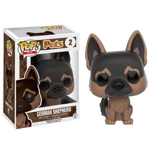 Figurine Pop! Pets Berger Allemand Funko Pop!