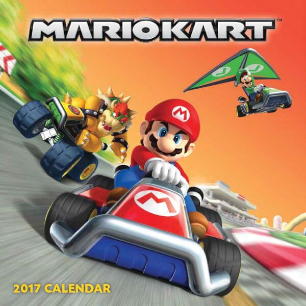 Mario Kart Calendar 2017