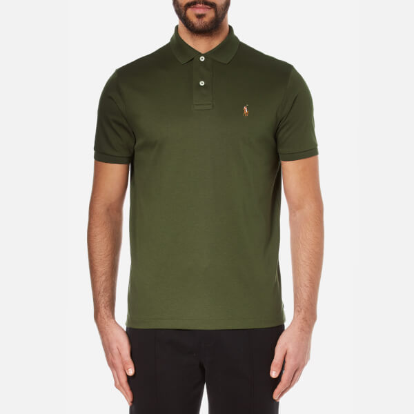 Polo Ralph Lauren Men's Custom Fit Short Sleeve Polo Shirt - Armadillo
