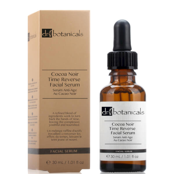 Dr Botanicals Coco Noir Time Reverse Facial Serum 30ml