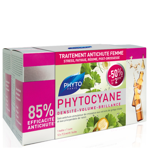 Phyto Phytocyane Treatment Duo 7.5ml (Worth $138)