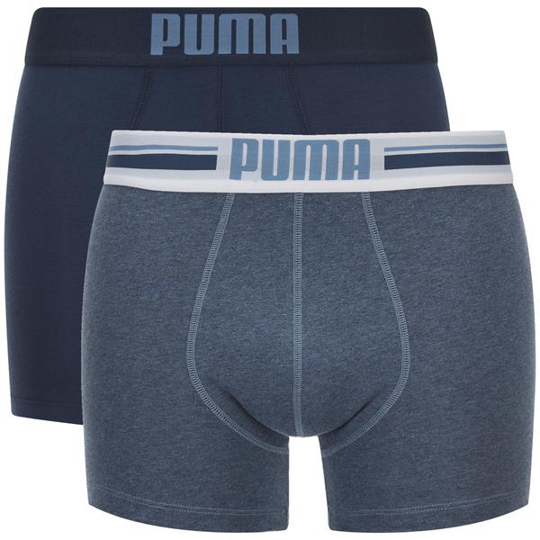 Lot de 2 Boxers Logo Puma -Bleu