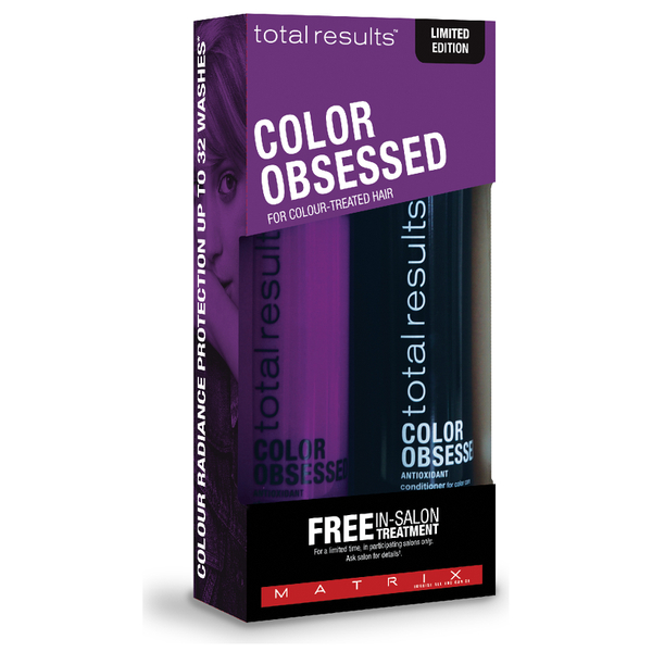 Matrix Total Results Colour Obsessed Coffret Cadeau Cheveux Colorés