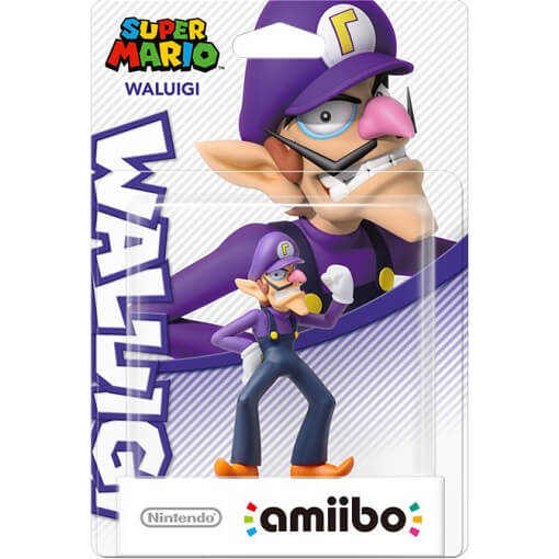 Waluigi amiibo (Super Mario Collection)