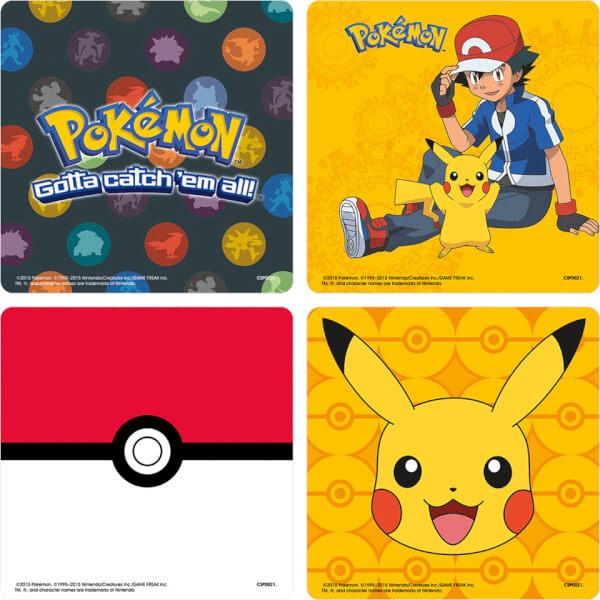 Pokémon Mixed Coaster Pack