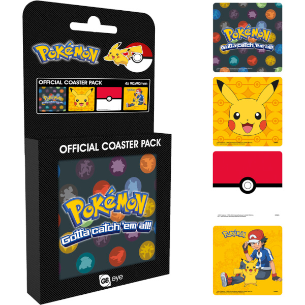 Pokémon Mixed Coaster Pack