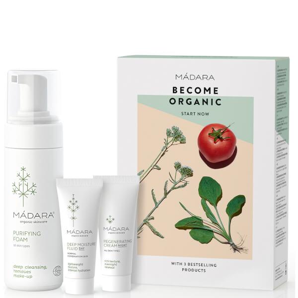 MÁDARA Become Organic Starter Set (Worth $86)