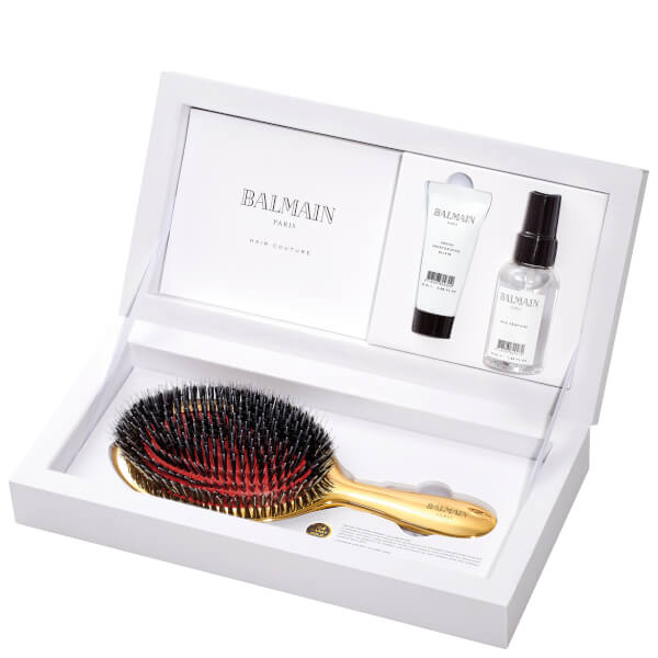 Balmain Hair Golden Brush Set (Worth £136.20)