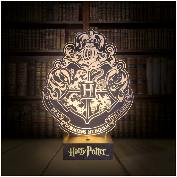 Harry Potter Crest Light