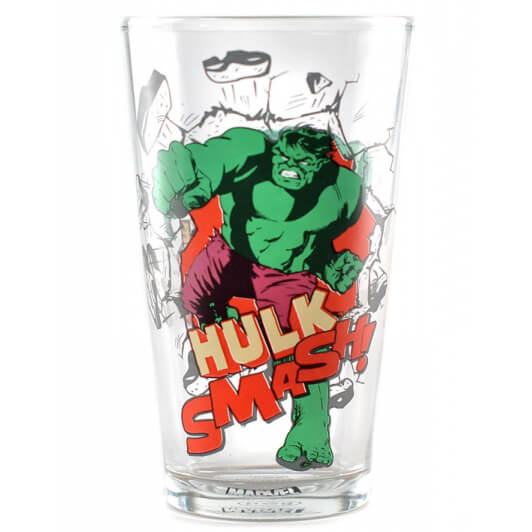 Grand Verre Hulk The Avengers Marvel