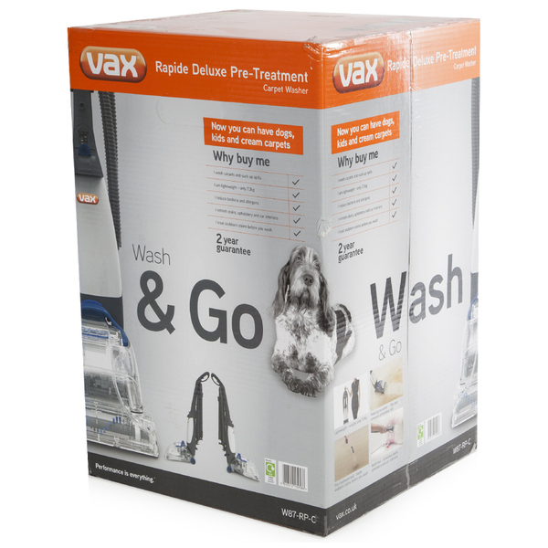 Vax W87rpc Rapide Classic 2 Carpet Cleaner Homeware