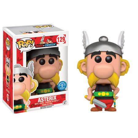 Asterix Amp Obelix Asterix Pop Vinyl Figure Pop In A Box Uk
