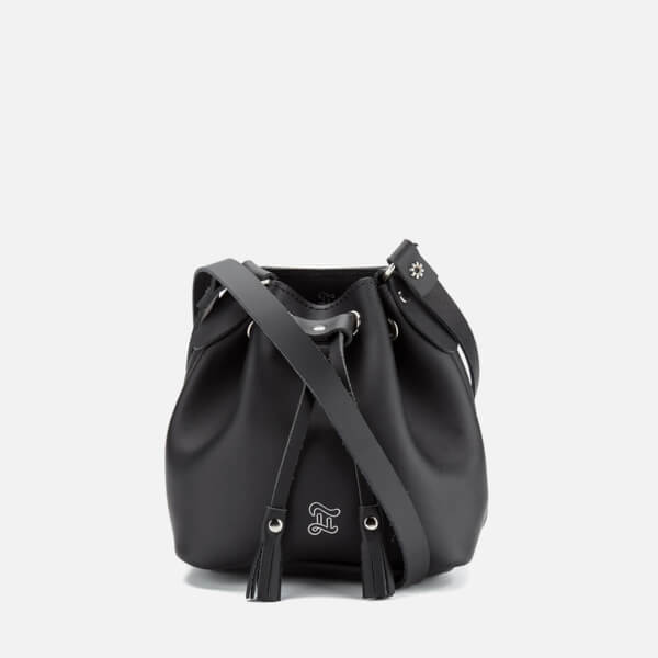 Grafea Women's Mini Bucket Bag - Black