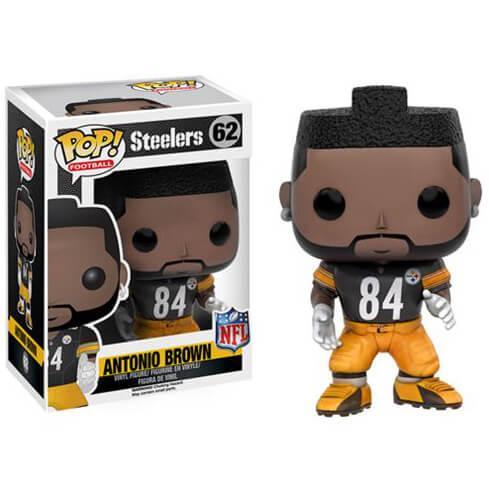 Figurine Pop! NFL Antonio Brown 3ème Vague