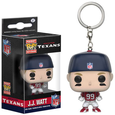 Porte-Clef Pocket Pop! NFL - J.J. Watt