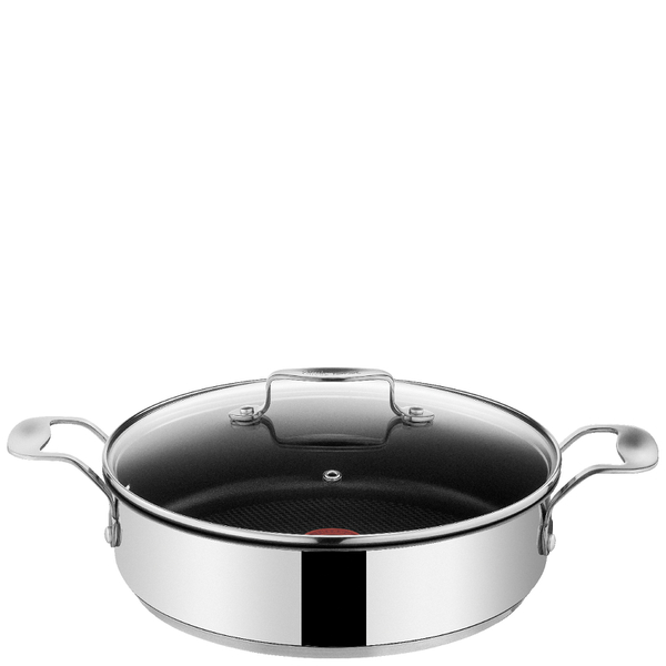 jamie oliver by tefal stainless steel serving pan 25cm iwoot. Black Bedroom Furniture Sets. Home Design Ideas