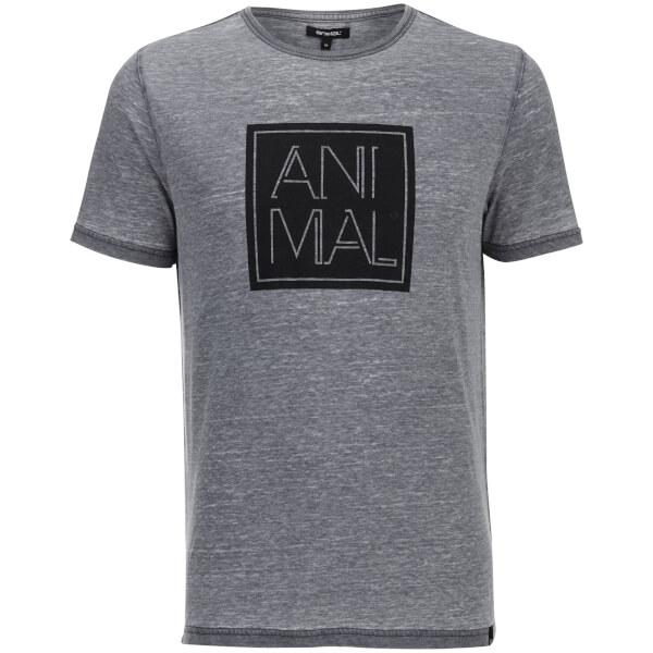 Animal Men's Lureo T-Shirt - Total Eclipse Navy Marl