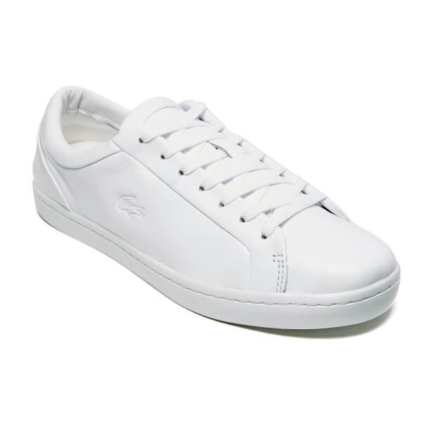 840e57260 Lacoste Men s Straightset 316 1 Cam Trainers - White  Image 2