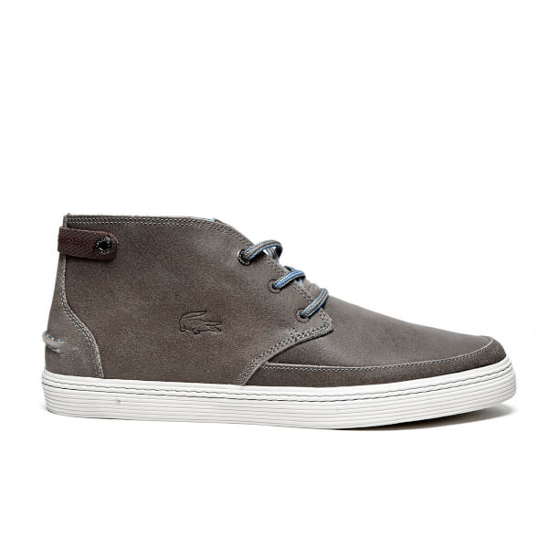 Lacoste Men's Clavel 18 Ap SRM Chukka Boots - Dark Grey