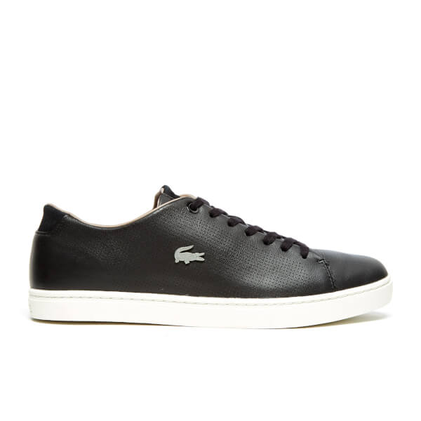Lacoste Men's Showcourt SRM Trainers - Black