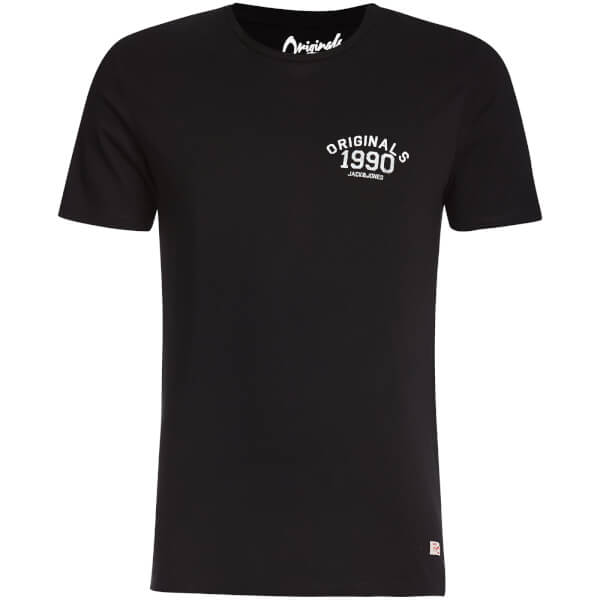 Jack & Jones Originals Men's Lights T-Shirt - Black