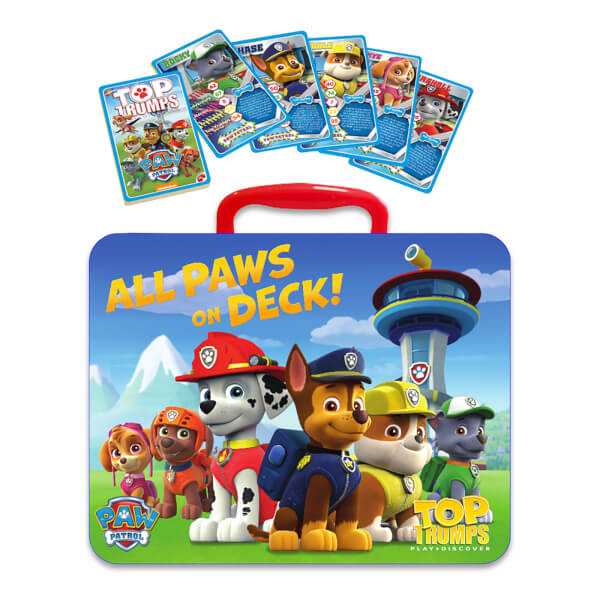 Top Trumps - Paw Patrol Collector's Tin Edition