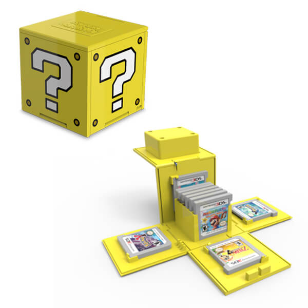 Question Block 3DS Game Card Case