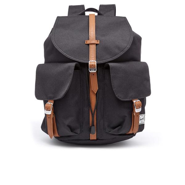 3f726ba6ad2 Herschel Supply Co. Men s Dawson Backpack - Black Tan  Image 1