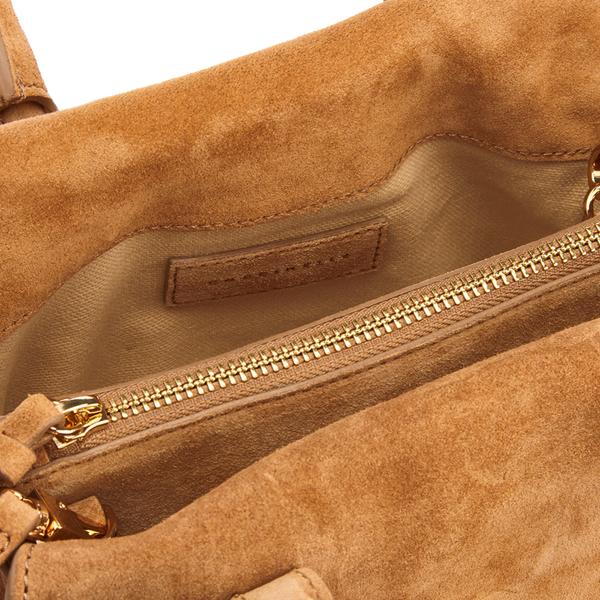 33c9ac5a17a3 Coccinelle Women s Arlettis Suede Mini Bag - Tan  Image 6