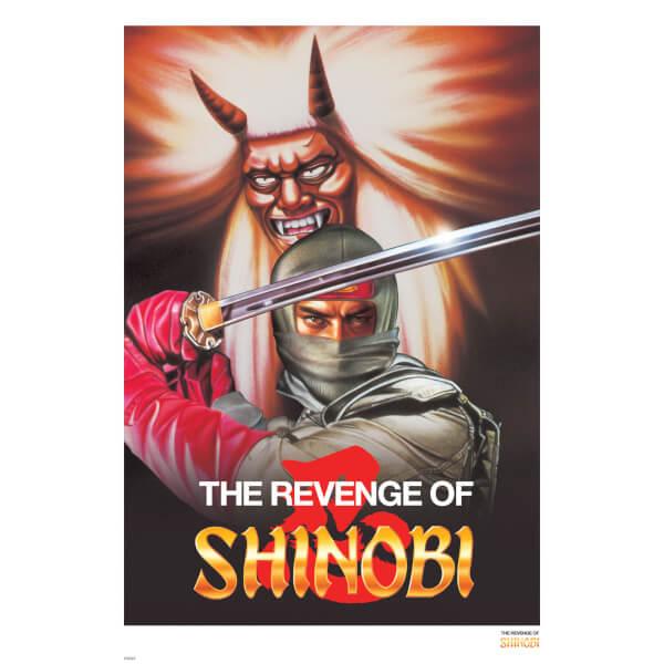 Affiche Impression Giclée Revenge of Shinobi - Édition Limitée