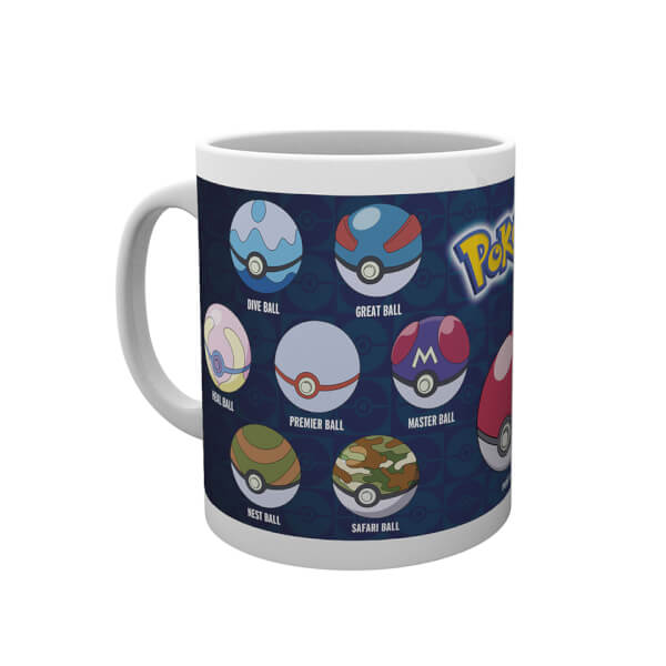 Pokémon Poké Ball Varieties Mug