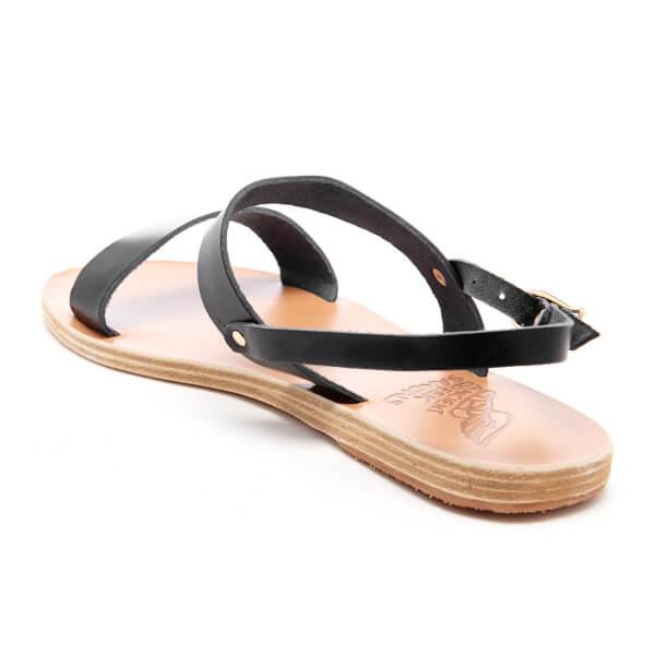 Double Ancient Strap Vachetta Leather Women's Greek Sandals Clio xrqrIw