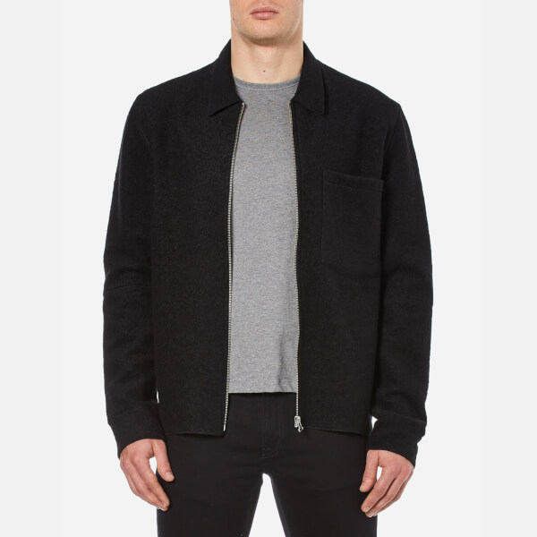 Our Legacy Men's Raw Edge Zip Jacket - Black