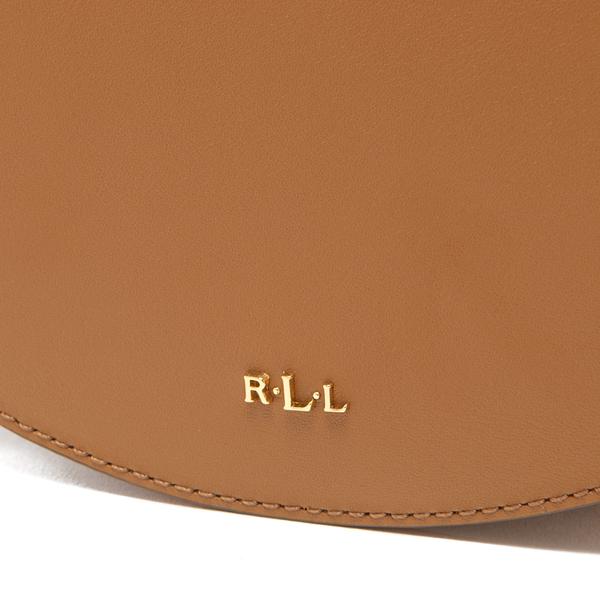 e6d20238e2 Lauren Ralph Lauren Women s Dryden Caley Mini Saddle Bag - Field  Brown Monarch Orange