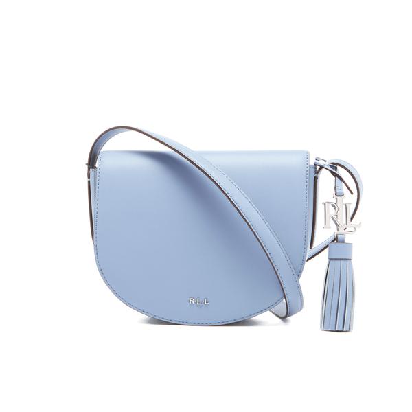 475411cd63 ... discount lauren ralph lauren womens dryden caley mini saddle bag blue  mist marine image 65d3f 335c5