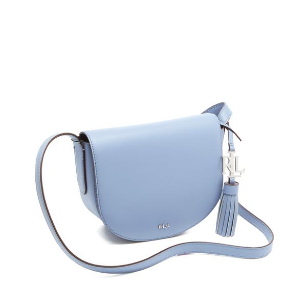 0ad555613e27 Lauren Ralph Lauren Women s Dryden Caley Mini Saddle Bag - Blue  Mist Marine  Image